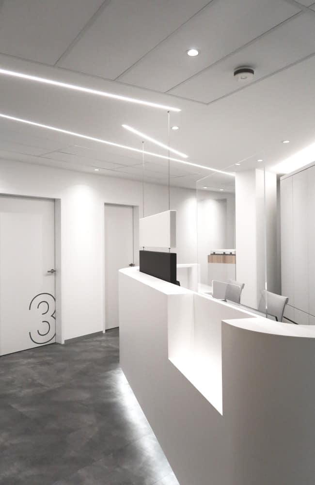 LED Lichtlinien KNX gesteuert